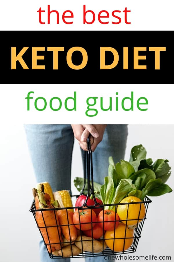 Are you new to keto and looking for a beginners food list? This keto cheat sheet will help you with your keto meal plans and grocery shopping. @ketofoodguide @ketodiet @ketoforbeginners