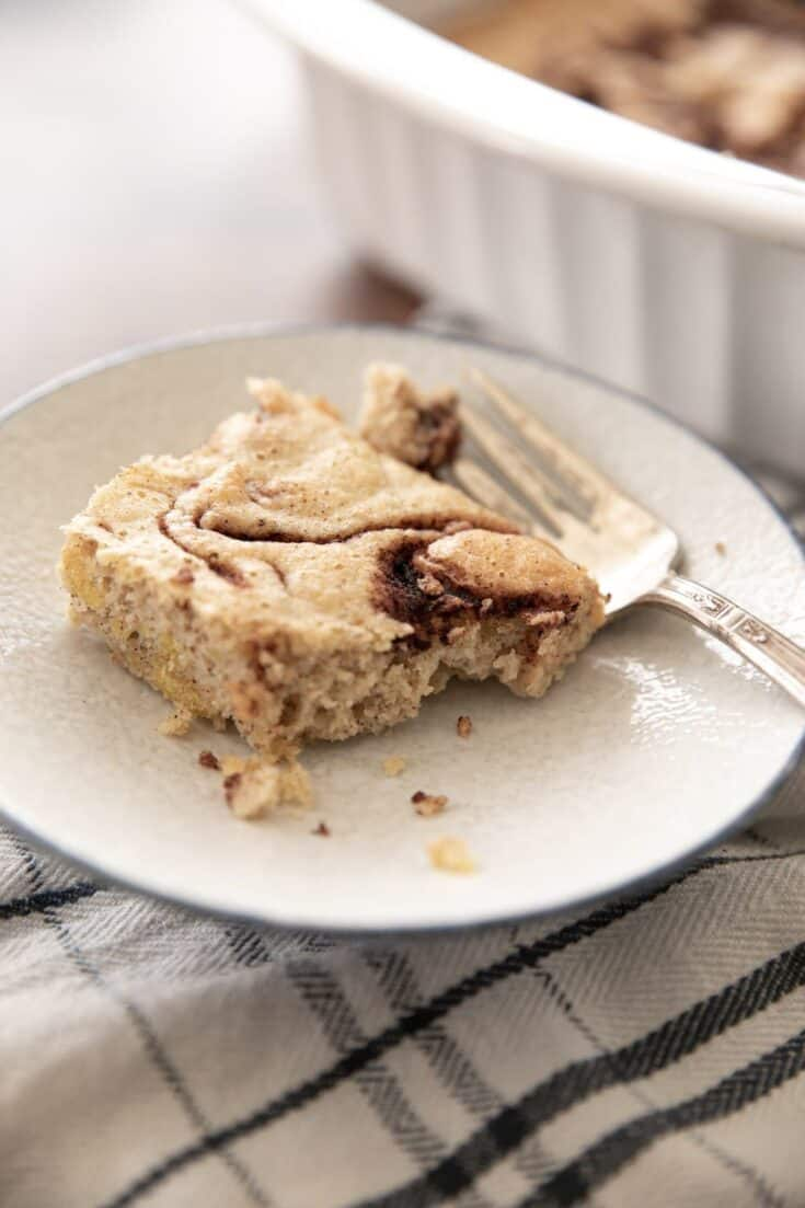 Cinnamon Swirl Keto Coffee Cake Recipe