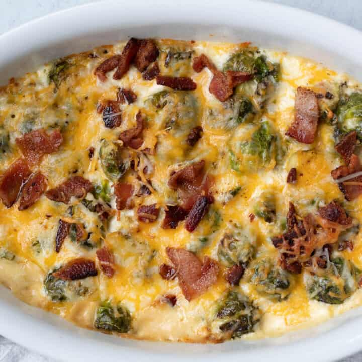 Keto Brussel Sprouts Recipe with Bacon