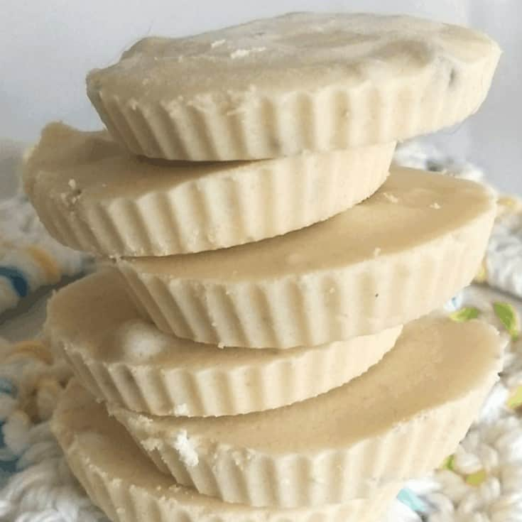 Keto White Chocolate Fudge