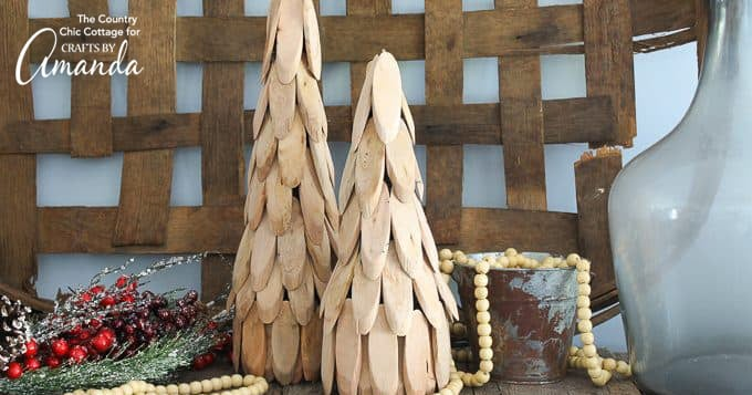 Wood Slice Trees