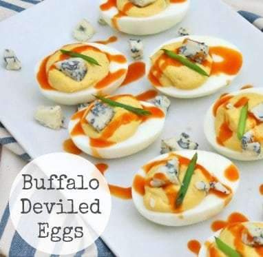 Buffalo Deviled Eggs Recipe