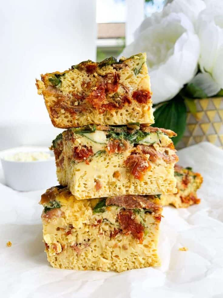 High Protein Egg Bake Casserole