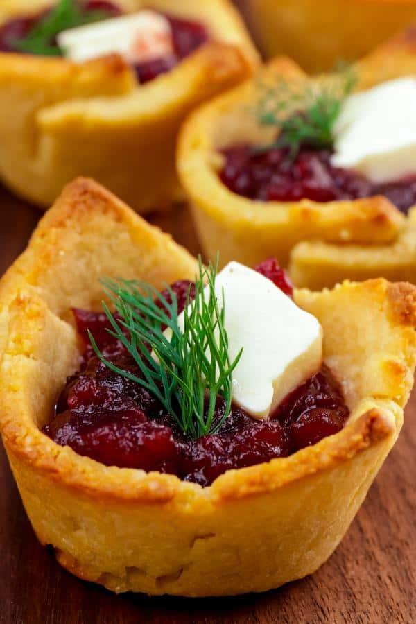 Keto Cranberry Brie Bites