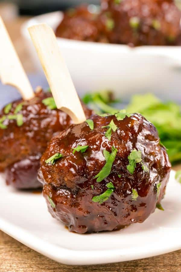 Low Carb Cranberry Meatball Recipe