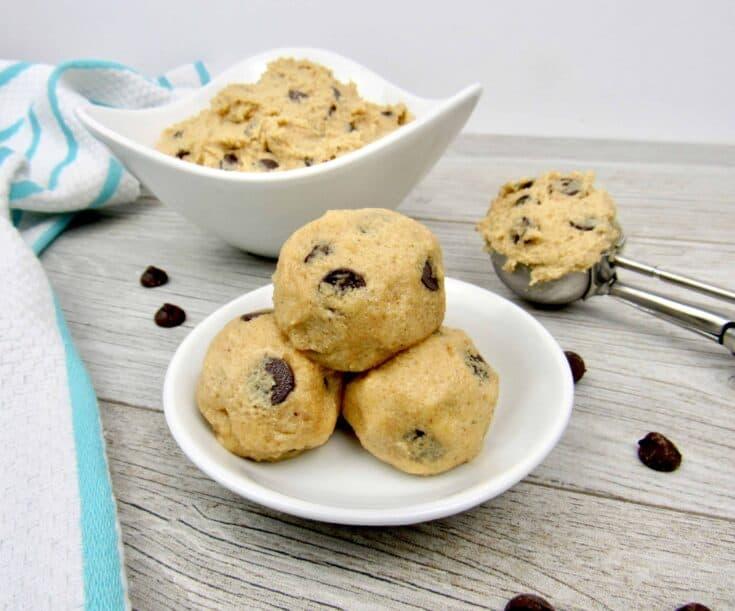 Edible Cookie Dough - Keto, Low Carb & Sugar-Free