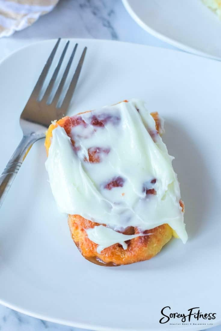 Keto Cinnamon Rolls with Cream Cheese Frosting (Low Carb Recipe!)