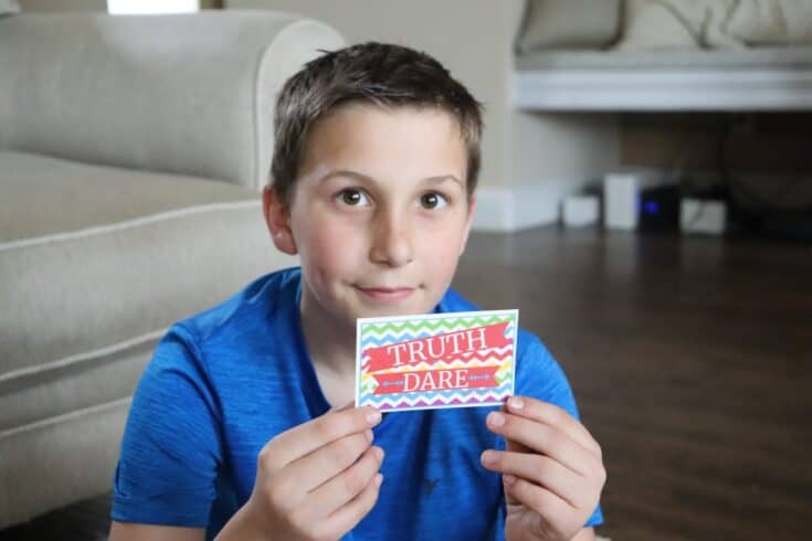 200 Super Awesome Truth or Dare Questions for Kids & Cards