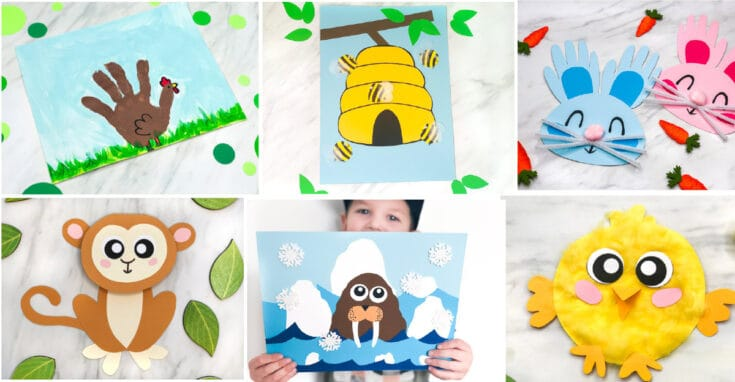 25 Best Animal Crafts For Kids