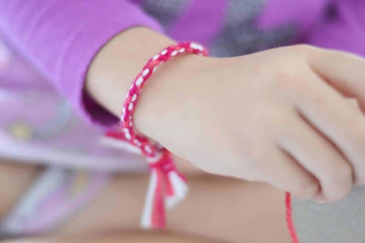 Simple DIY Friendship Bracelets