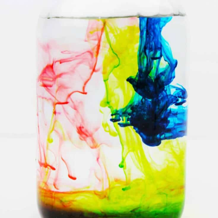 Shaving Cream Rain Cloud in a Jar STEM Experiment