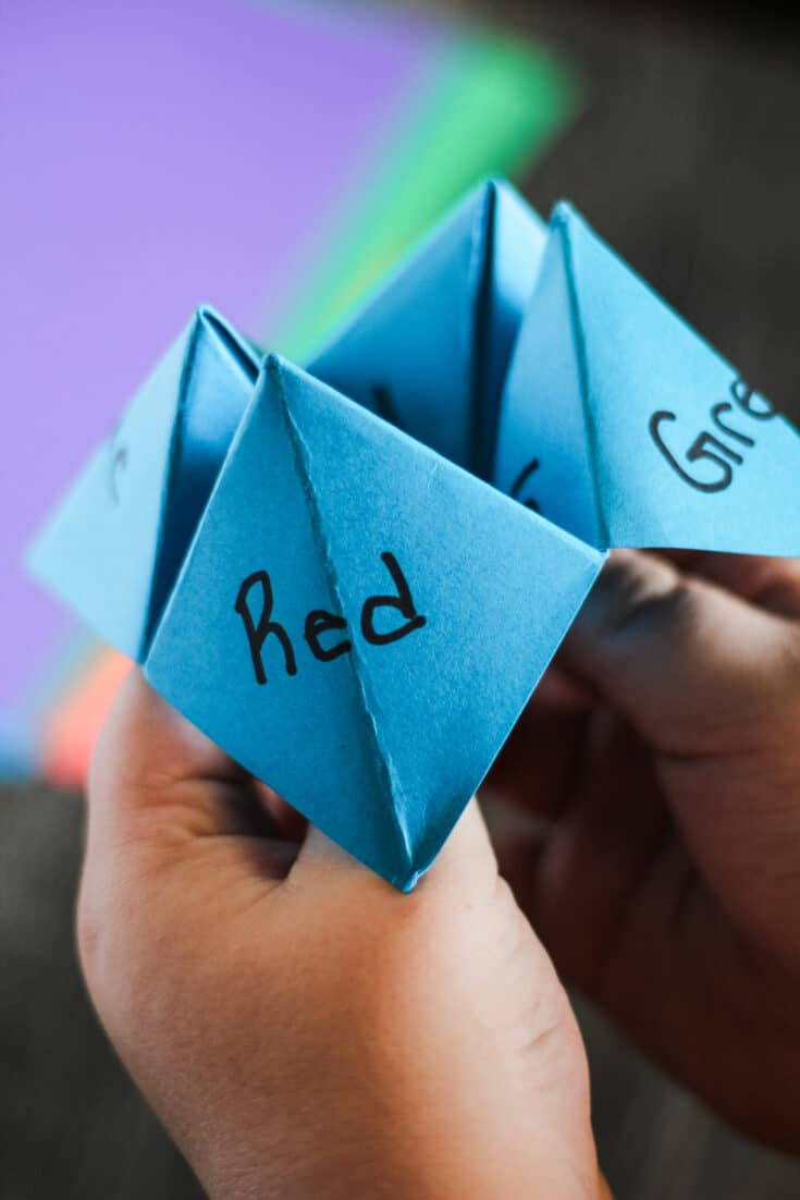 How to Make a Cootie Catcher