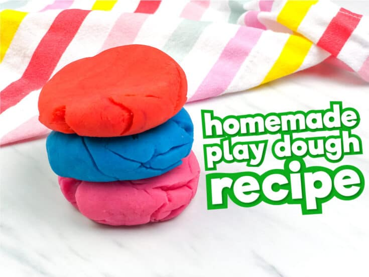 Easy Homemade Play Dough Recipe For Kids