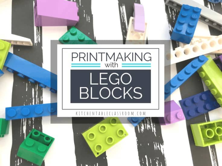 Printmaking with Legos