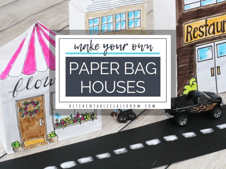 Paper Bag Houses- A Paper Bag Craft to Inspire Play