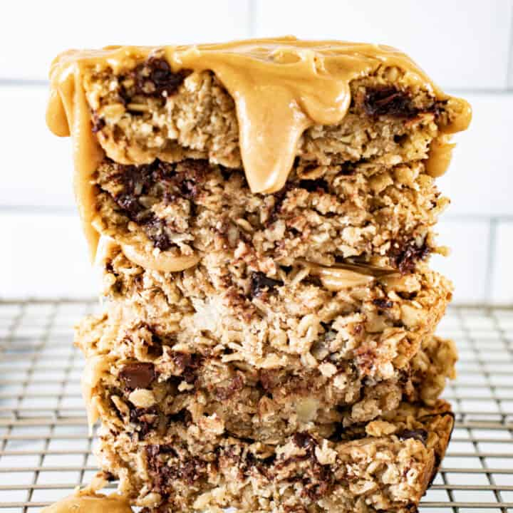Peanut Butter Chocolate Chip Breakfast Bars
